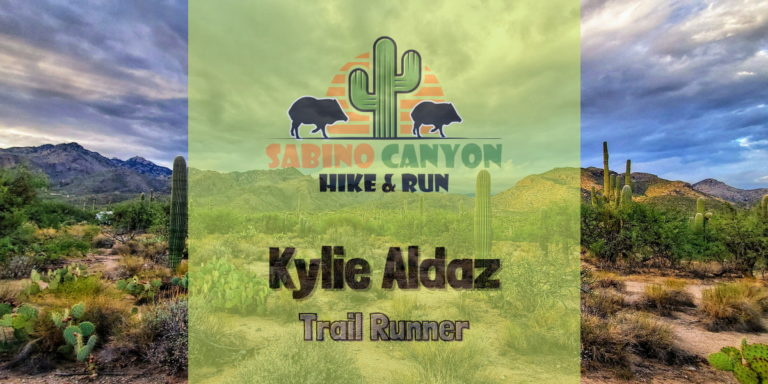 Kylie Aldaz Trail Runner