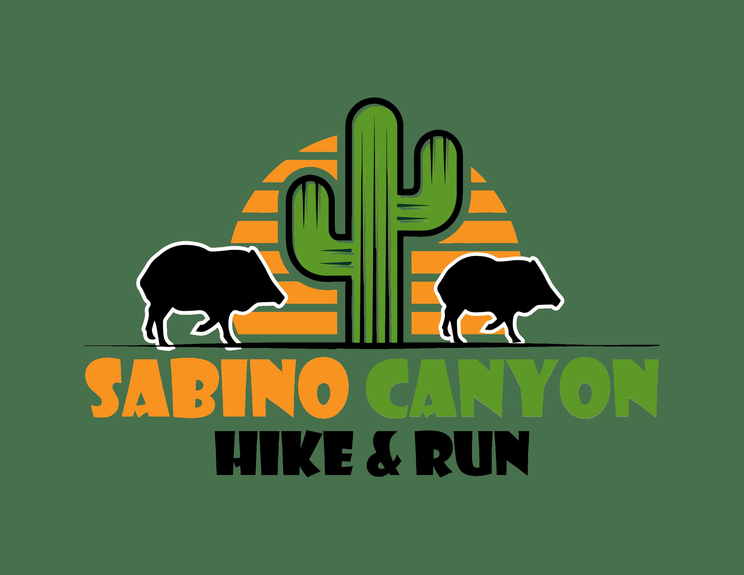 Sabino Canyon Hike & Run Logo